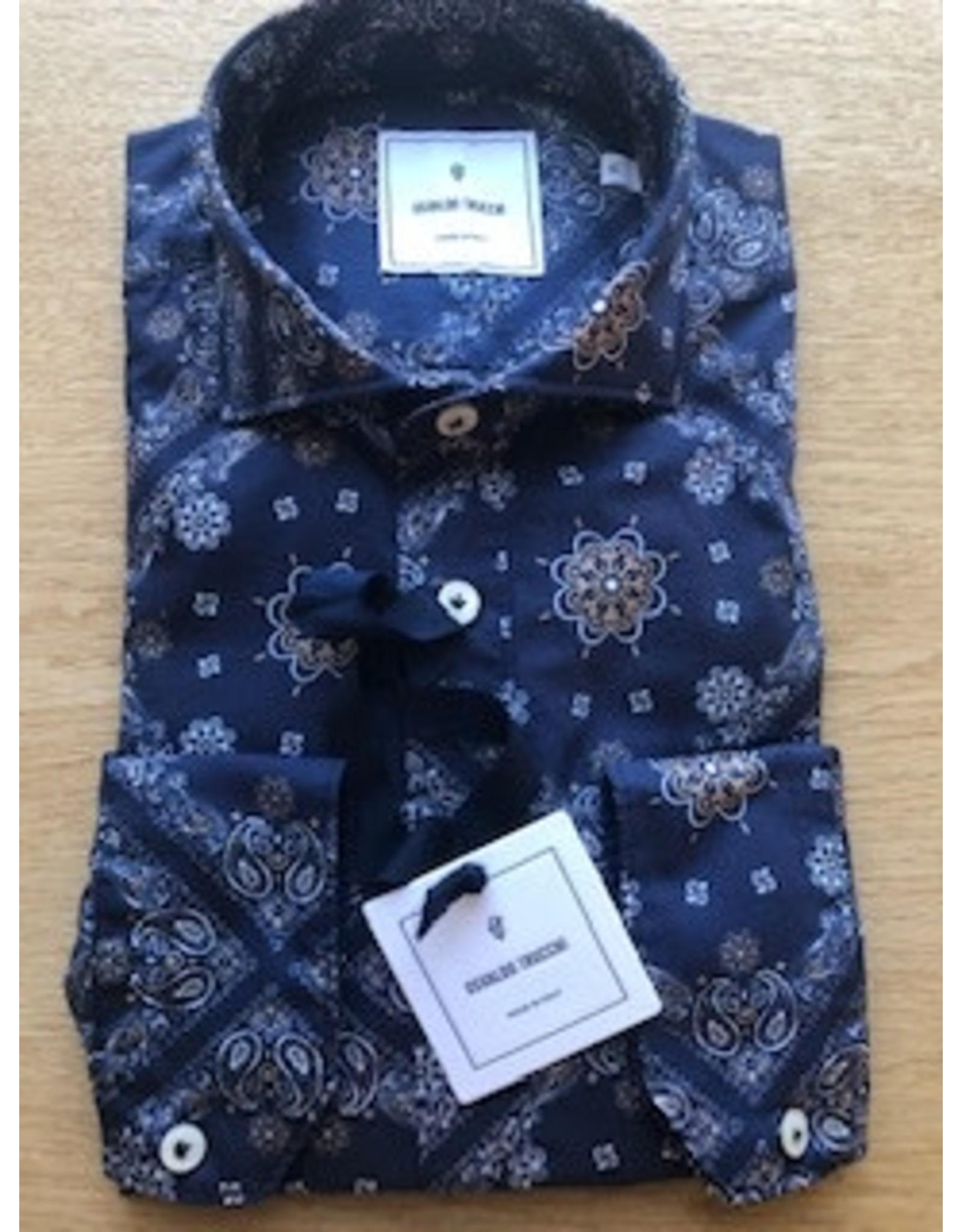 Osvaldo Trucchi Bandana Print Shirt