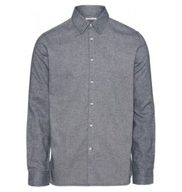 Knowledge Cotton Heavy Flannel Shirt