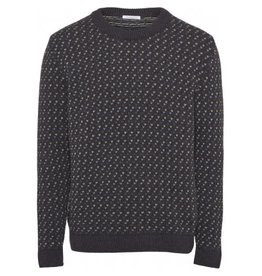 Knowledge Cotton Jacquard Jumper