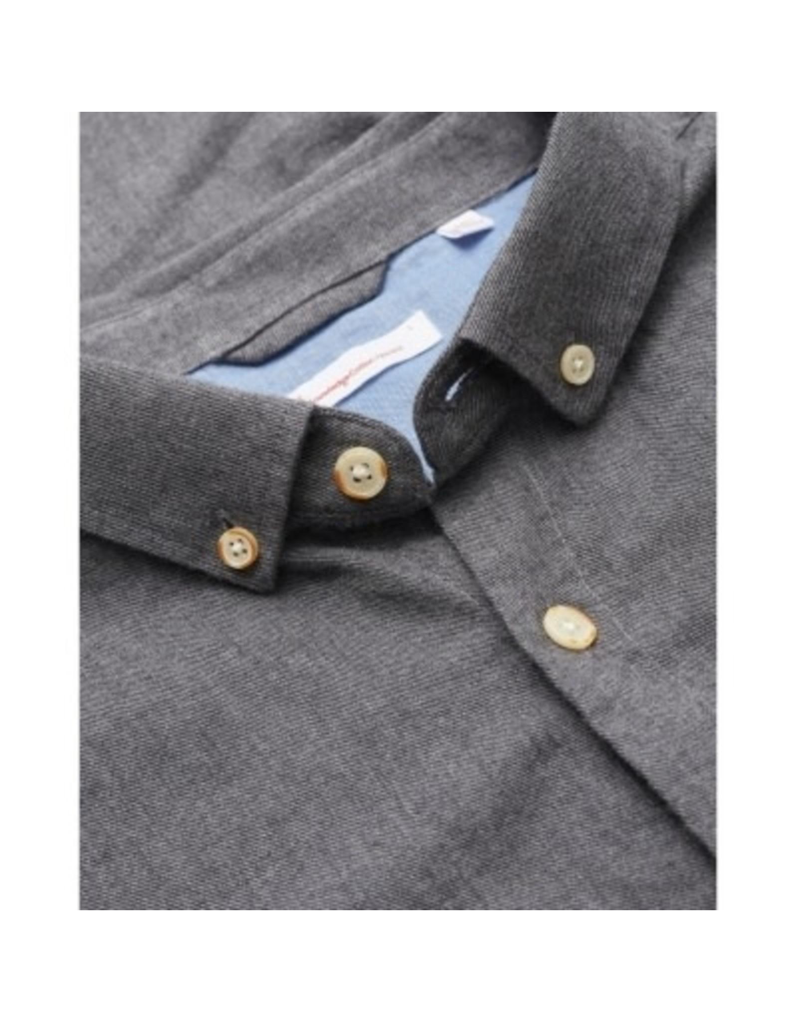 Knowledge Cotton Elder Flannel Shirt