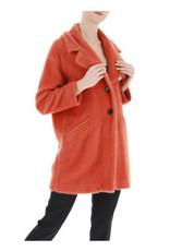 i Blues Affix Coat Orange