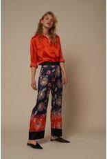 Charlotte Sparre Silk Shirt Orange