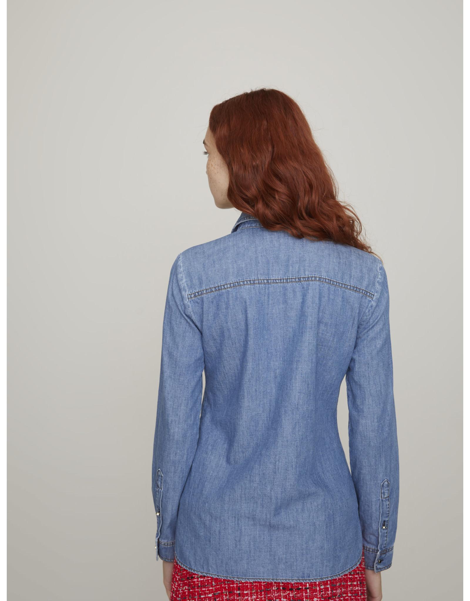 i Blues Irto Denim Shirt