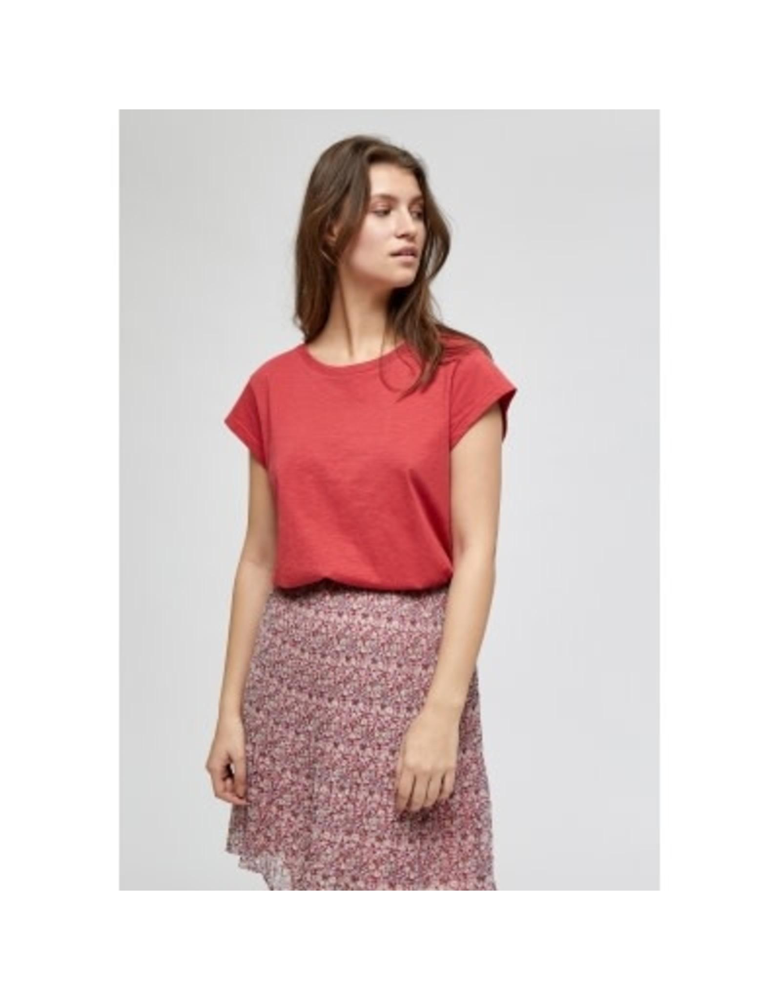Minus Leti T Shirt Red