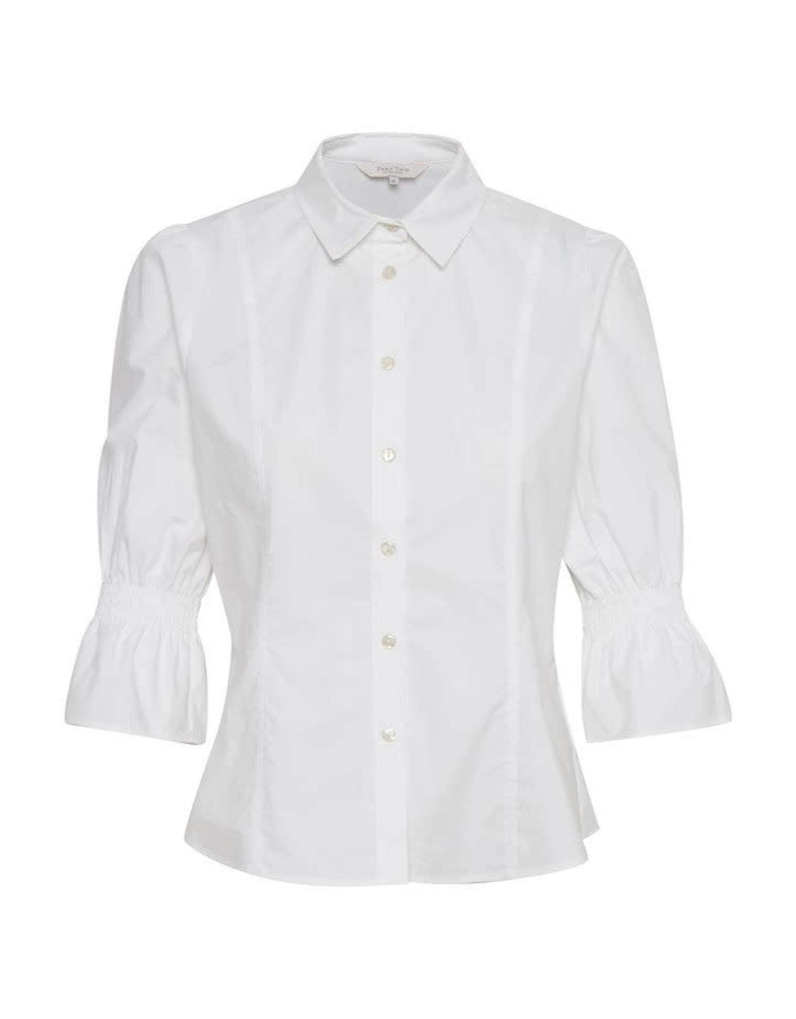 Part Two Harleen Shirt White