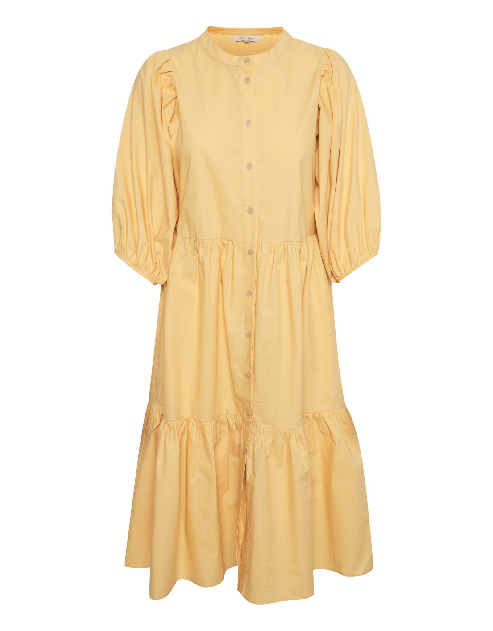 Part Two Hasita Dress Yellow