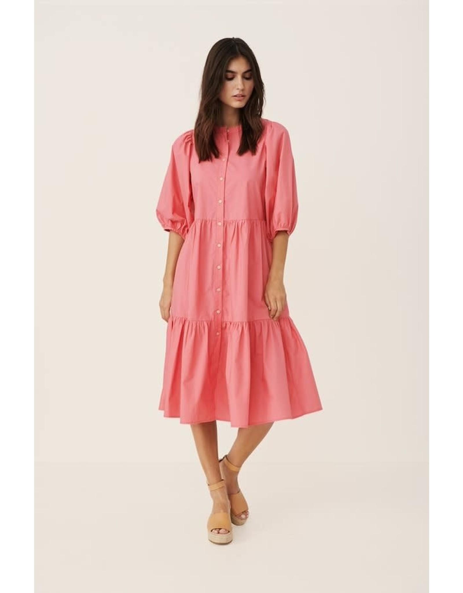 Part Two Hasita Dress Pink