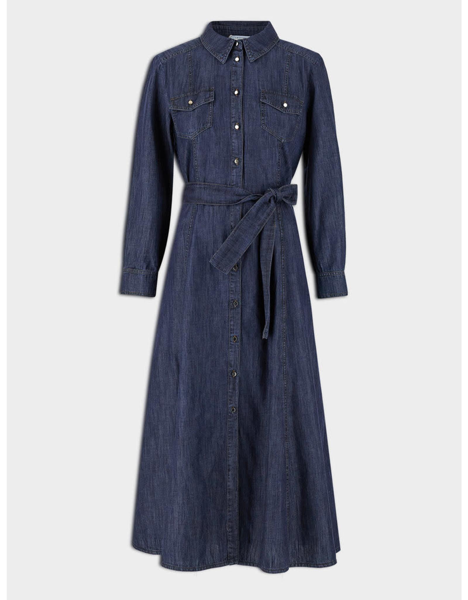 i Blues Corolla Denim Dress