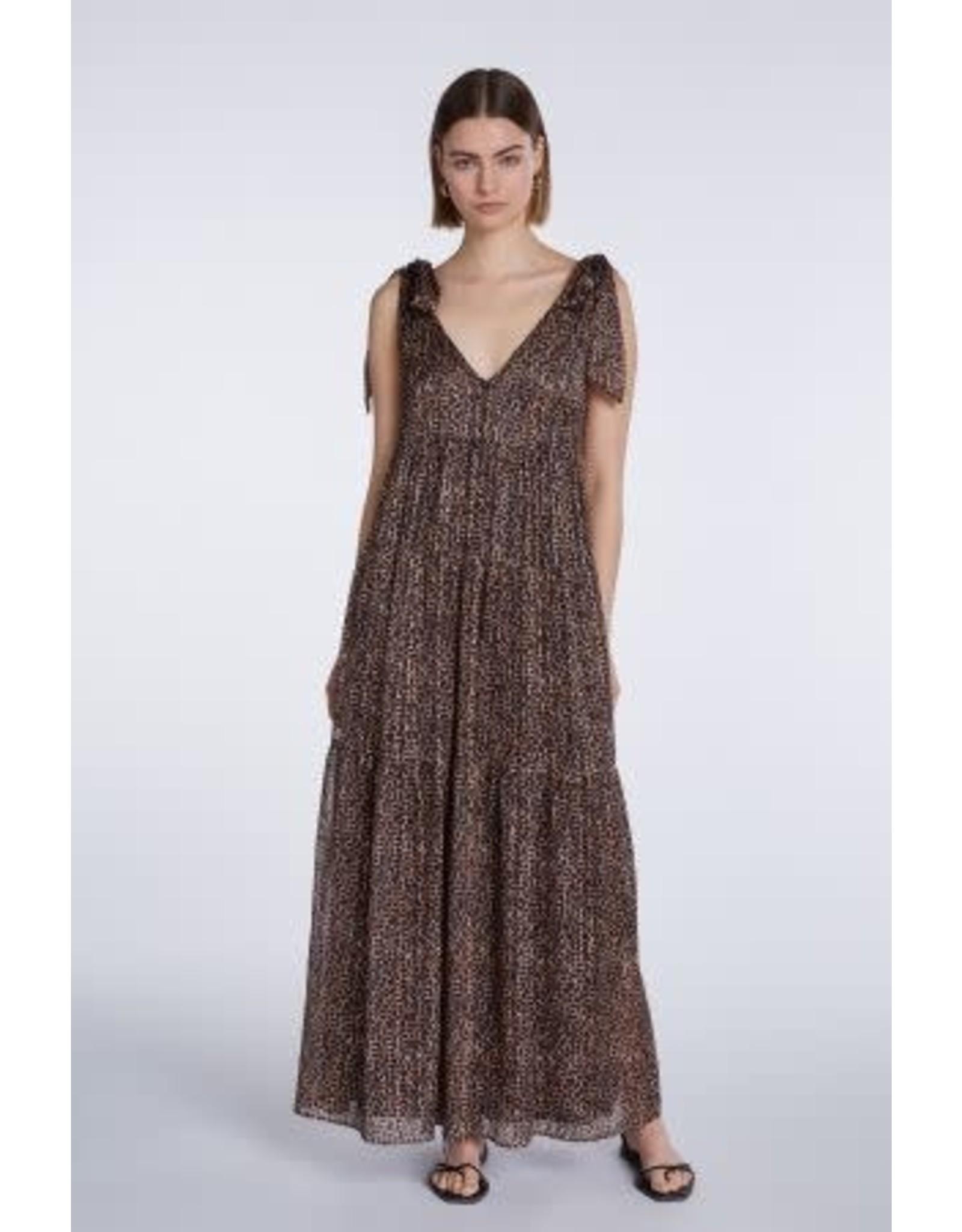 Set Animal Maxi Dress