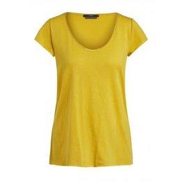 Set V T Shirt Yellow