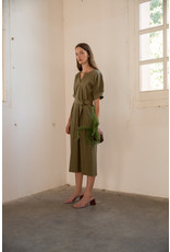 Sita Murt Tencel  Belted Dress