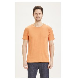 Knowledge Cotton Basic T Shirt Apricot