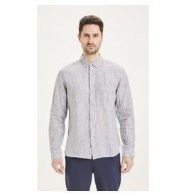 Knowledge Cotton Stripe Linen Shirt
