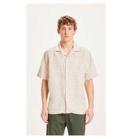Knowledge Cotton Check Short Sleeve Shirt