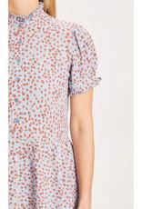 Knowledge Cotton Womens Fleur Maxi Dress