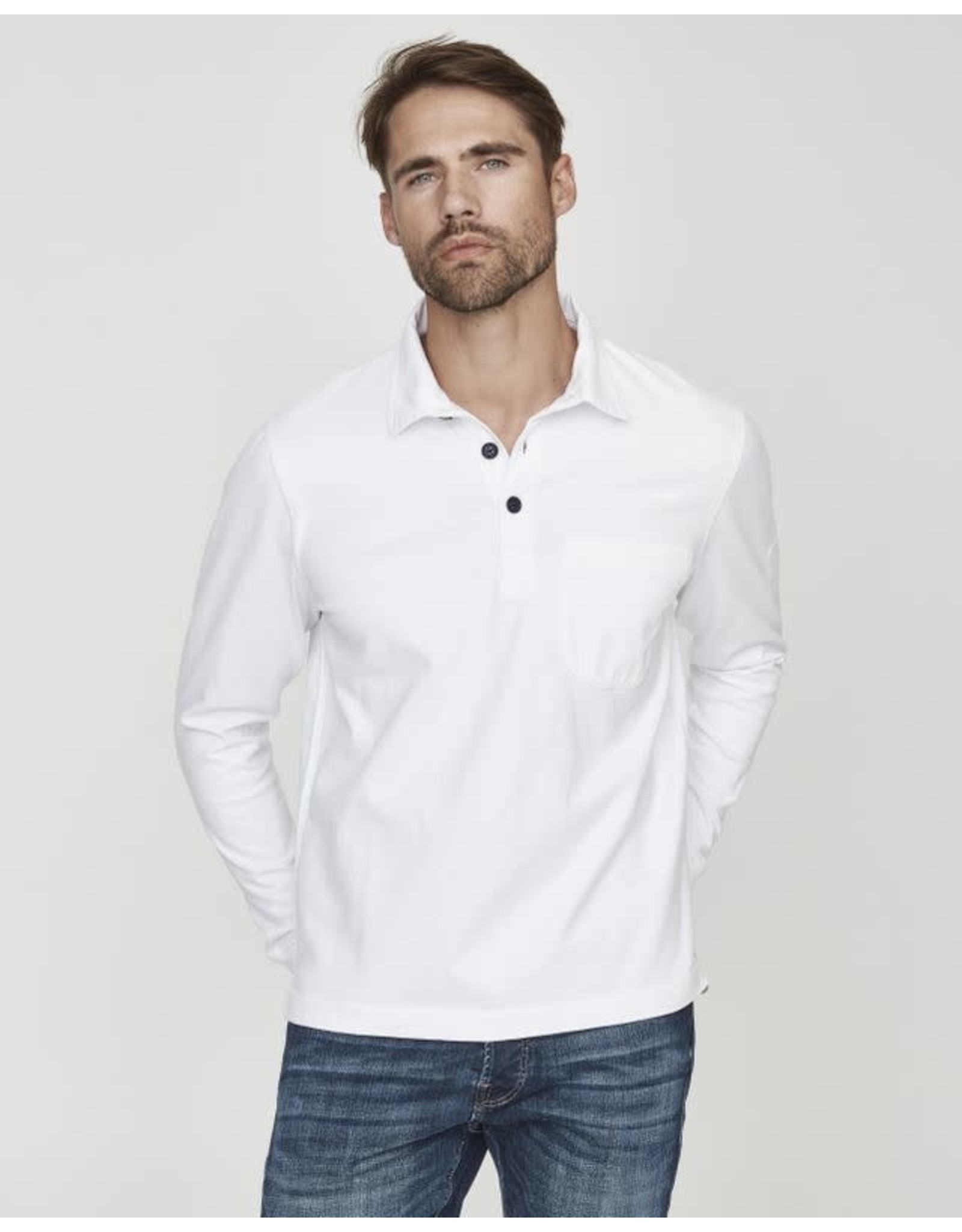 Holebrook Rugger Top White