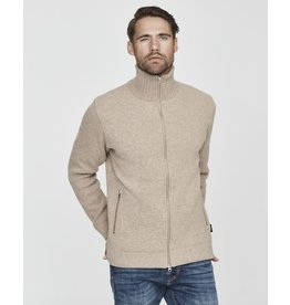 Holebrook Mans WP Cardigan Beige