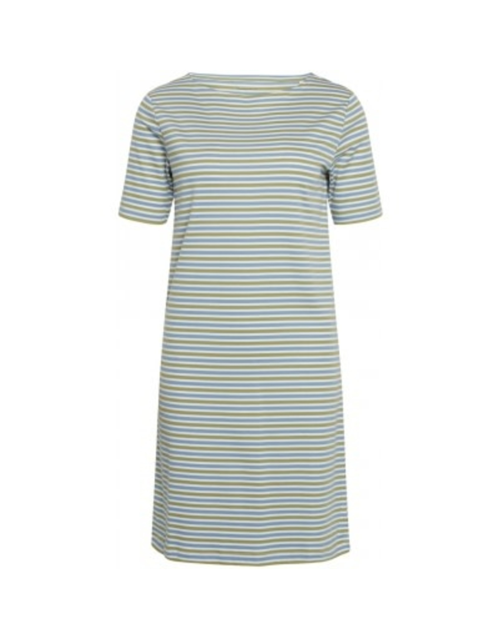 Knowledge Cotton Womens Violet Stripe Dress