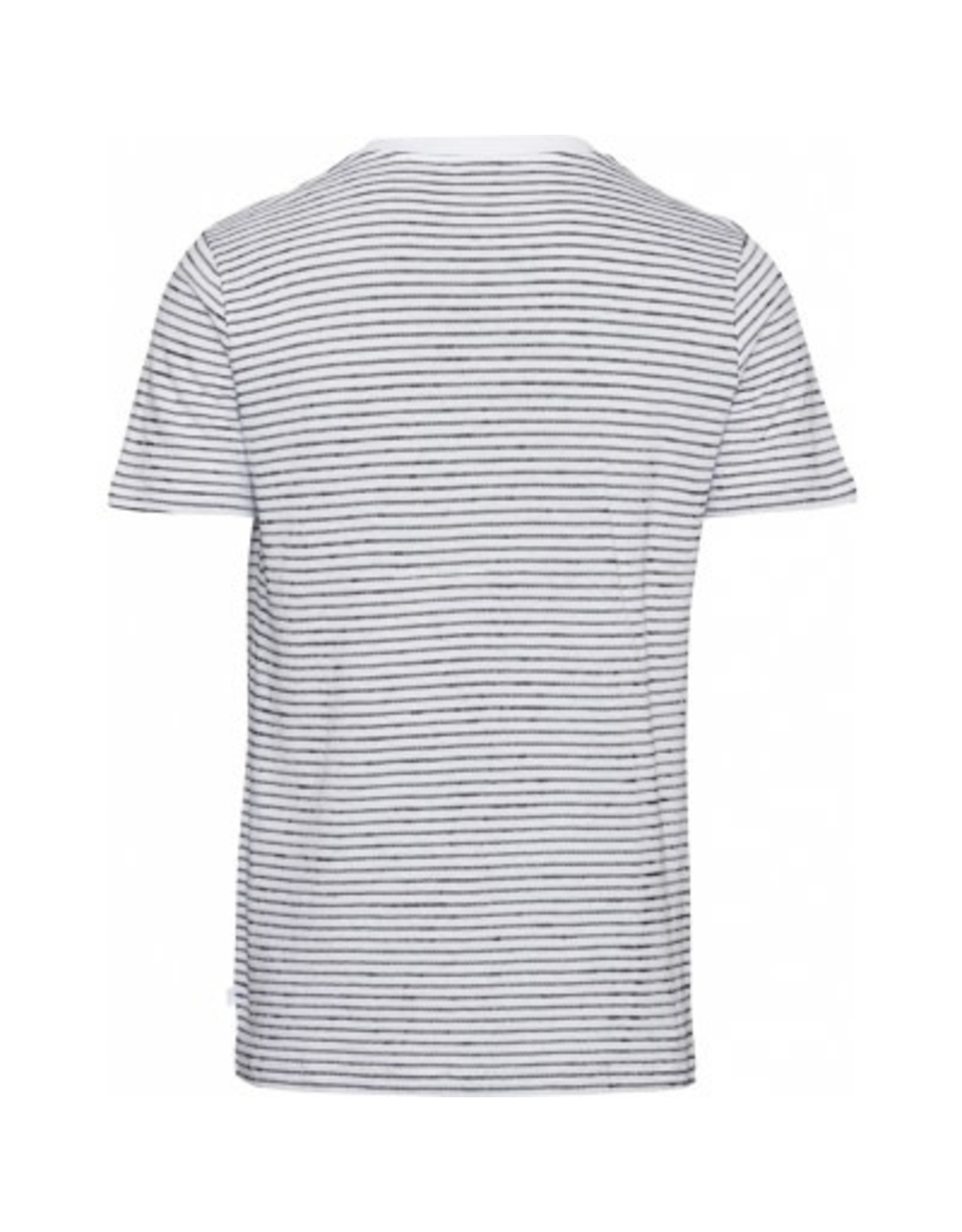Knowledge Cotton Breton Stripe T Shirt