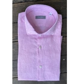Pavilion Mens Ostuni Linen Shirt Pink