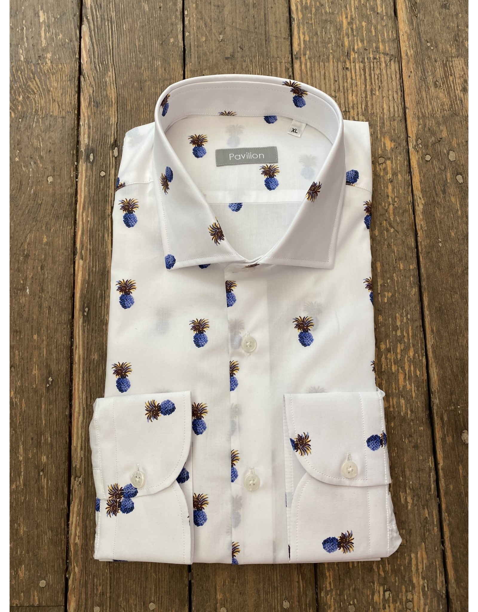 Pavilion Mens Cotton Pineapple Shirt