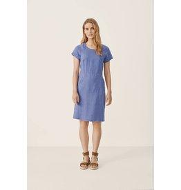 Part Two Aundreas Dress Blue