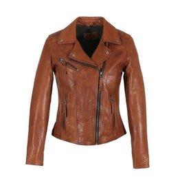 Oakwood Clips Tan Leather Jacket
