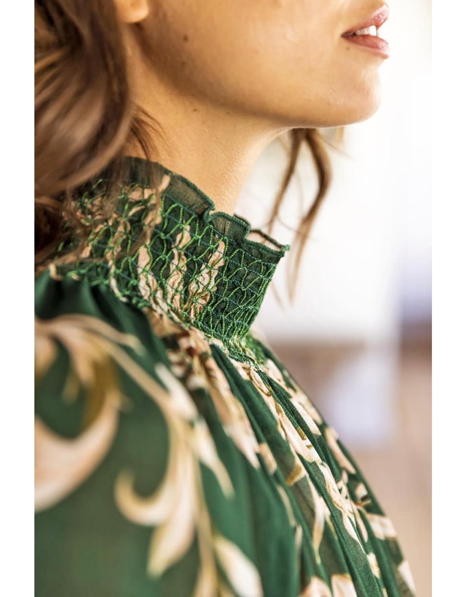 Miss June Alba Maxi Dress green