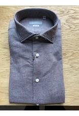 Pavilion Mens Plain Flannel Taupe Shirt