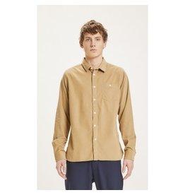 Knowledge Cotton Cord Shirt Cream