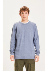 Knowledge Cotton Lambswool Blue Jumper