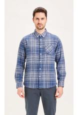 Knowledge Cotton Flannel Big Check Shirt