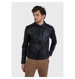 Oakwood Mens Agent Leather Jacket
