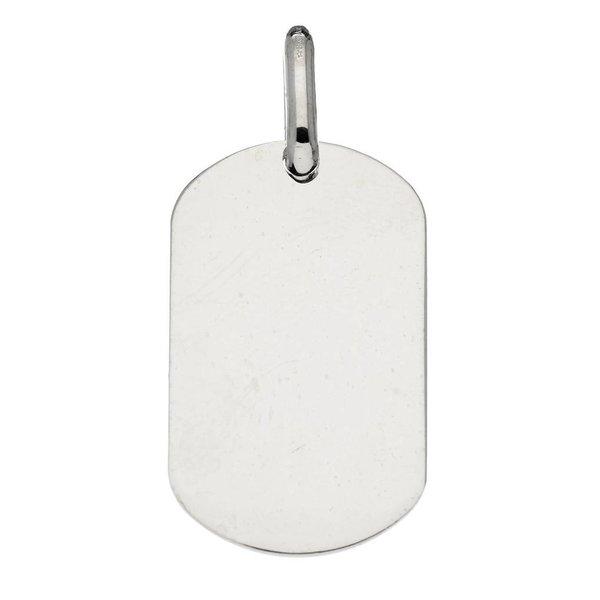 Zilveren graveerplaatje best basics