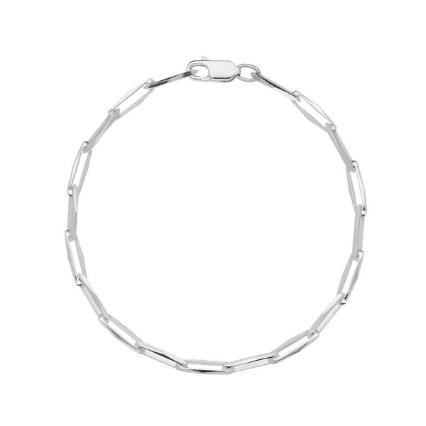 Zilveren schakelarmband - closed for ever 3.5 mm