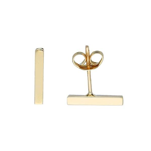 Gouden oorknoppen - balk