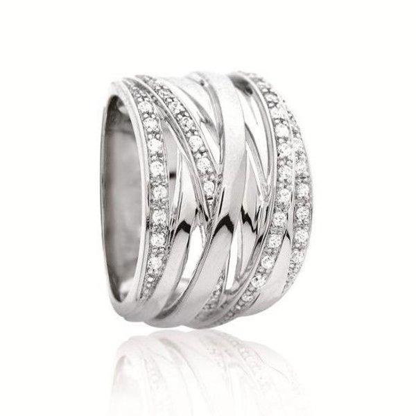 Zilveren fantasiering elegance