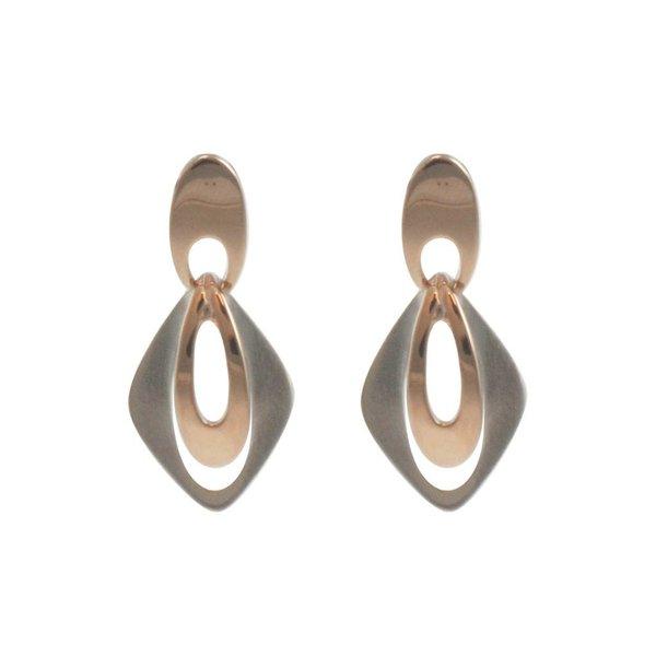 Zilveren oorhangers design