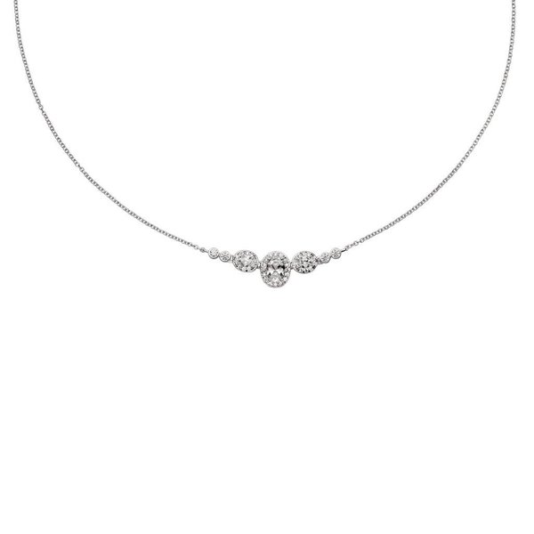 Zilveren hanger inc collier diamonfire