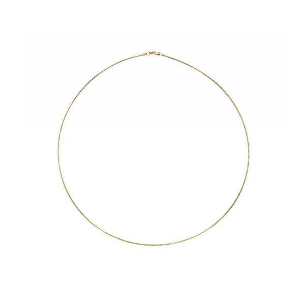 Gouden omegacollier - 45 cm - 1.2 mm