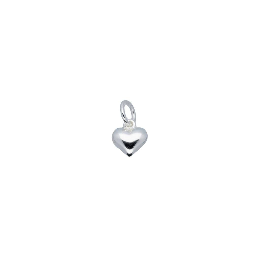 Lilly Zilveren bedel - hart 8.2 mm -