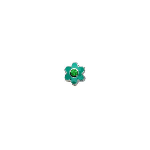 Zilveren sterrenbeeld - bloem mei groene kwarts