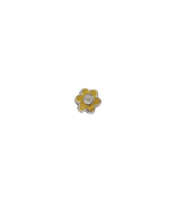 Lilly Zilveren sterrenbeeld - bloem juni maansteen -