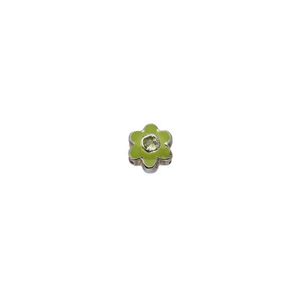 Zilveren sterrenbeeld - bloem augustus peridot
