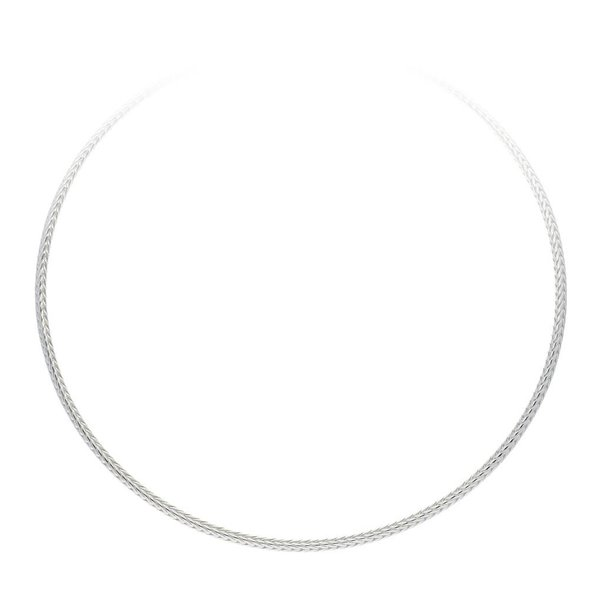 Zilveren collier palmier - 3mm
