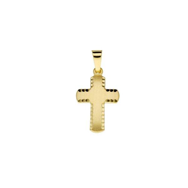 Gouden kruisje - 23 x 11.5 mm