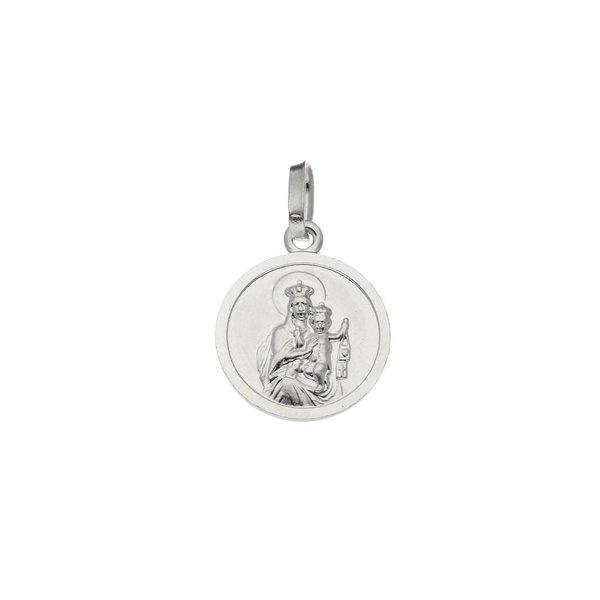 Zilveren medaille - 14.5x12mm - rond