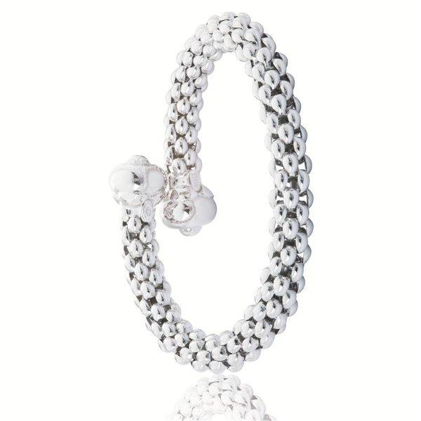 Zilveren klemarmband elegance