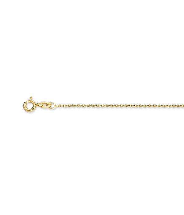 Best basics Doublé lengtecollier - anker 1.3 mm -