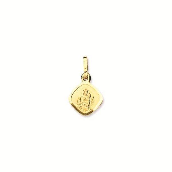 Gouden medaille - 12 mm - ruit